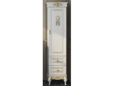 Мебель для ванной Misty Bianco 40 R белый сусальное золото Л-Бья05040-391П