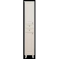Шкаф - пенал Misty Шармель 35 L с 2-мя ящиками светло-бежевый Л-Шрм05035-5812ЯЛ