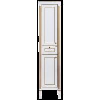 Misty Женева - 40 Пенал без Б/К белая патина левый П-Жен05040-013БкЛ