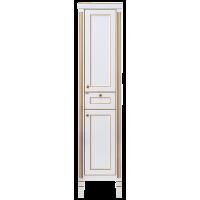 Misty Женева 40 пенал R белый патина П-Жен05040-013БкП
