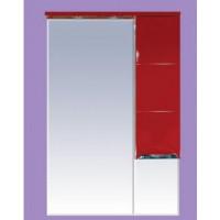 Зеркальный шкаф Misty Петра 65 R красный П-Пет04065-041СвП
