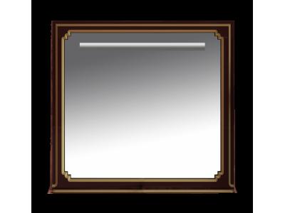 Мебель для ванной Misty Praga  -105 Зеркало бордо патина Л-Пра02105-103