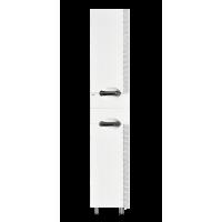 Шкаф - пенал Misty Престиж - 35 Пенал правый белый серебряная патина