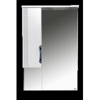 Misty Престиж - 60 Зеркало лев. серебряная патина Э-Прсж02060-014ЛСбп