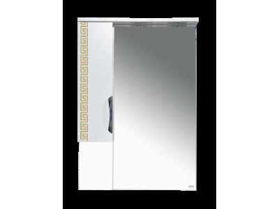 Мебель для ванной Misty Престиж - 60 Зеркало лев. золотая патина Э-Прсж02060-013ЛЗлп