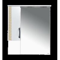 Misty Престиж - 80 Зеркало лев. золотая патина Э-Прсж02080-013ЛЗлп