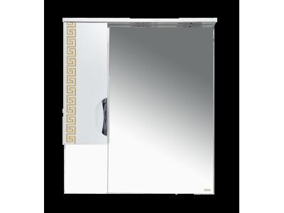 Мебель для ванной Misty Престиж - 80 Зеркало лев. золотая патина Э-Прсж02080-013ЛЗлп