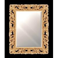 Зеркало Misty Аврора R.1021.BA.ZF.col 142 Зеркало 750х970 (золото, прямоугольное)