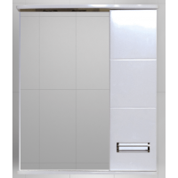 Зеркальный шкаф Misty Селена  - 60 Зеркало - шкаф прав. П-Сел02060-01П