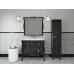 Мебель для ванной Misty CHARME - Пенал 40 прав. черный Л-Чар05040-021П