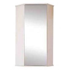 Шкаф Misty Лилия -34 шкаф подвесной (угловой)  с ЗЕРКАЛОМ Э-Лил08034-011ЗрУг