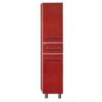 Шкаф - пенал Misty Гранд Lux 35 L красный Croco Л-Грл05035-049КрЛ