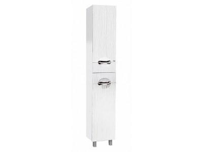 Мебель для ванной Misty Лорд - 35 Пенал ( белая пленка) с Б/К прав. П-Лрд05035-012БкП