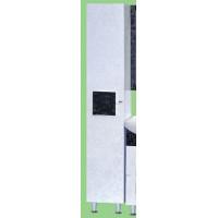 Шкаф - пенал Misty Марика 35 L черный/белый П-Мар05035-242Л