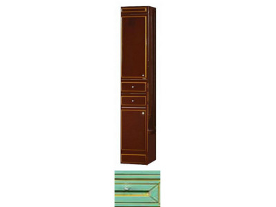 Мебель для ванной Misty Praga 35 L салатовый Л-Пра05035-0732ЯЛ