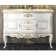 Misty Bianco 120 с 2-мя ящиками белая сусальное золото Л-Бья01120-3912Я