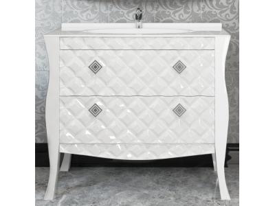Мебель для ванной Misty Charme 100 белая Л-Чар01100-0112Я