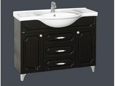 Мебель для ванной Misty Александра -105 Тумба ВЕНГЕ П-Але01105-052