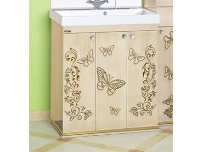 Мебель для ванной Misty Бабочка 75 Л-Баб01075-033Пр