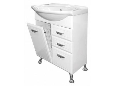 Мебель для ванной Misty Дрея  - 65 Тумба с 2-мя ящ. (корзина) Э-Дре01065-01К2Я
