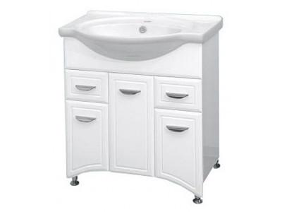 Мебель для ванной Misty Дрея  - 76 Тумба с  2 ящ. Э-Дре01076-012Я