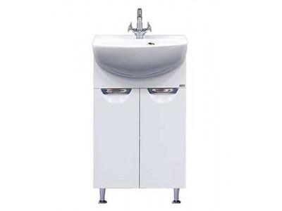 Мебель для ванной Misty Ева - 50 Тумба прямая П-Ева01050-01Пр
