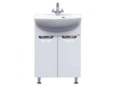 Мебель для ванной Misty Ева - 55 Тумба прямая П-Ева01055-01Пр