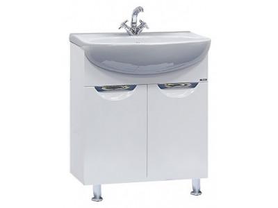 Мебель для ванной Misty Ева - 60 Тумба прямая П-Ева01060-01Пр