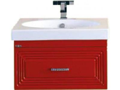 Мебель для ванной Misty Европа 50 красная подвесная П-Евр01050-041По