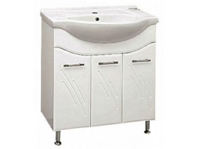 Мебель для ванной Misty Флори  70 Тумба прямая Э-Флр01075-011Пр