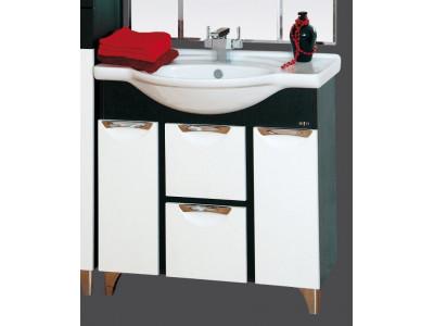 Мебель для ванной Misty Франко -105 Тумба Венге/белый П-Фра01105-252