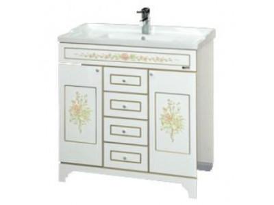 Мебель для ванной Misty Milano 80 бежевая Л-Мил01080-0334Я
