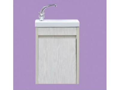 Мебель для ванной Misty Мини -40 Тумба прямая подвесная универсальная л/п вудлайн П-Мин01040-172По
