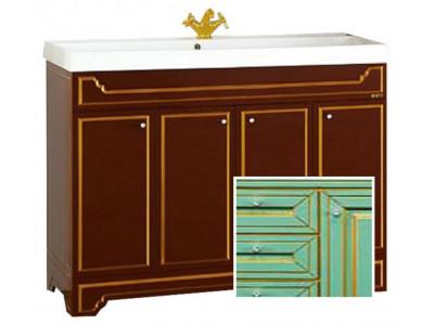 Мебель для ванной Misty Praga 120 салатовая Л-Пра01120-073Пр