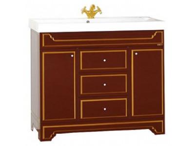 Мебель для ванной Misty Praga 90 бордо Л-Пра01090-1033Я