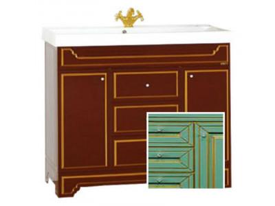 Мебель для ванной Misty Praga 90 салатовая Л-Пра01090-0733Я