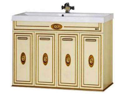 Мебель для ванной Misty Roma 120 бежевая Л-Ром01120-033Пр