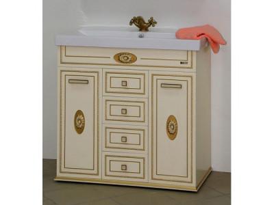 Мебель для ванной Misty Roma 90 бежевая Л-Ром01090-0334Я