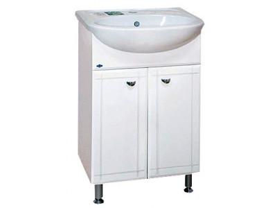 Мебель для ванной Misty Уют - 55 Тумба прямая Э-Уют01055-01Пр