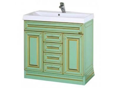 Мебель для ванной Misty Vena 120 салатовая Л-Вен01120-073Пр