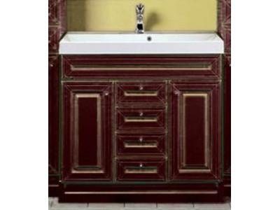 Мебель для ванной Misty Vena 120 бордо Л-Вен01120-103Пр