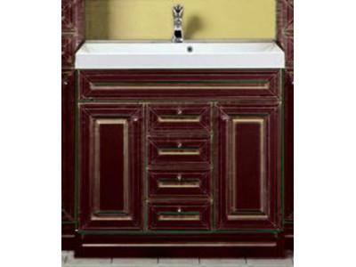 Мебель для ванной Misty Vena 105 бордо Л-Вен01105-1033Я