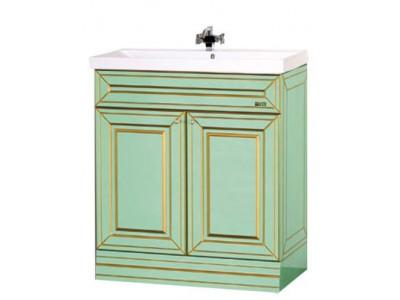 Мебель для ванной Misty Vena 75 салатовая Л-Вен01075-0733Я