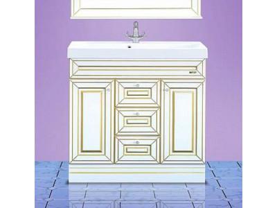 Мебель для ванной Misty Vena 90 белая Л-Вен01090-0133Я