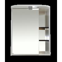 Зеркальный шкаф Misty Венера  - 60 Зеркало-шкаф лев. со светом комбинированное П-Внр04060-25СвЛ