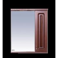 Зеркальный шкаф Misty Вояж - 60 Зеркало - шкаф прав.коричневый П-Воя02060-141П