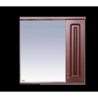 Misty Вояж - 70 Зеркало - шкаф прав.коричневый П-Воя02070-141П