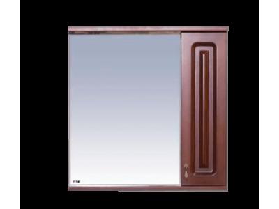 Мебель для ванной Misty Вояж - 70 Зеркало - шкаф прав.коричневый П-Воя02070-141П