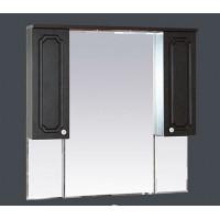 Misty Александра -105 зеркало-шкаф (свет) ВЕНГЕ П-Але04105-052Св