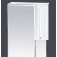 Misty Александра - 65 зерк-шкаф прав.(свет) белый мет П-Але04065-352СвП